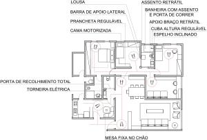 planta do dormitório